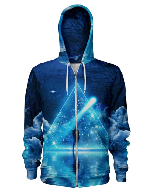 Lumi Trispangle Zip Hoodie