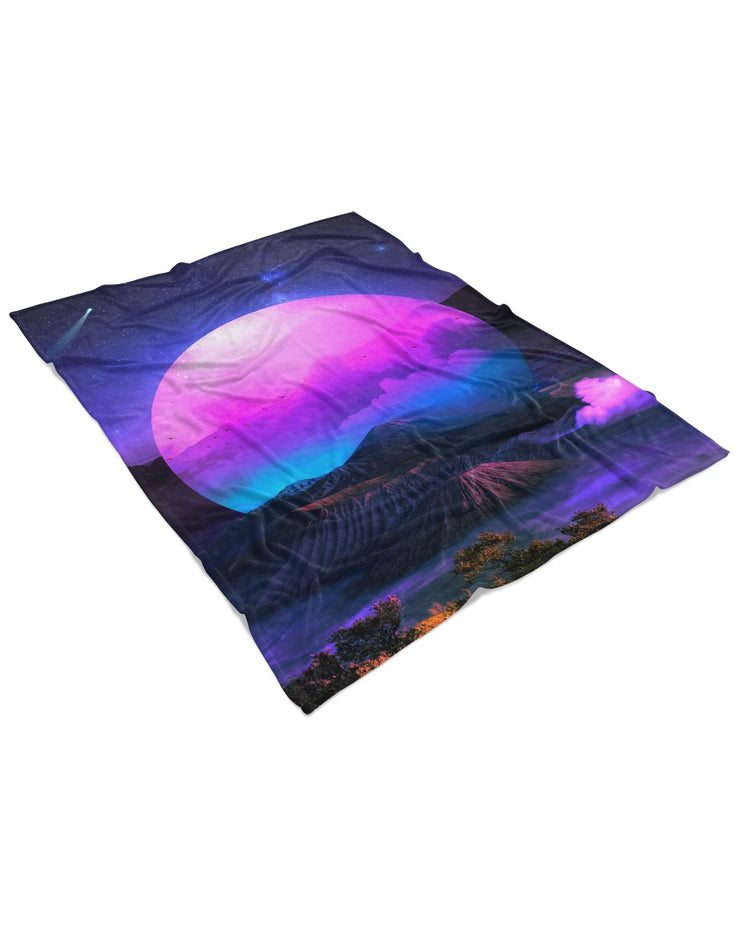 Lumi Vaporwoven Fluffy Micro Fleece Throw Blanket