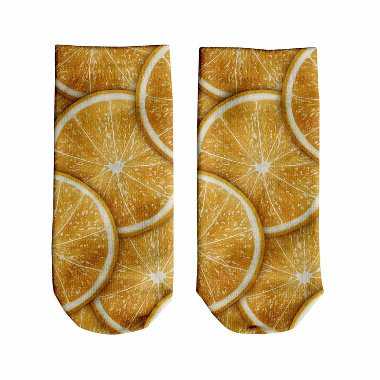 Oranges Ankle Socks
