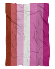 Lesbian Pride Flag printed all over in HD on premium fabric. Handmade in California.