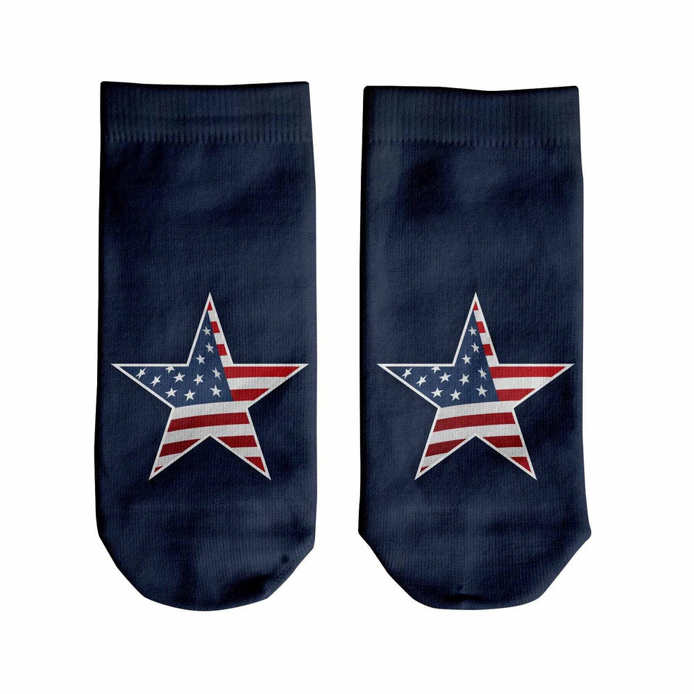 Star and Stripes Ankle Socks