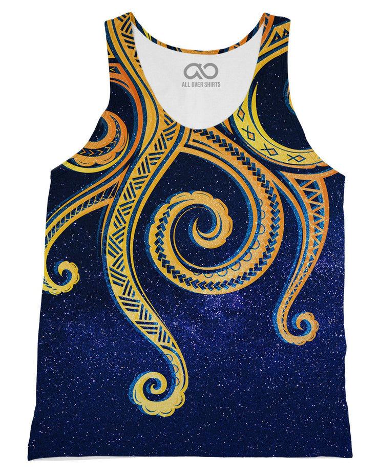 Odin Sea printed all over in HD on premium fabric. Handmade in California.