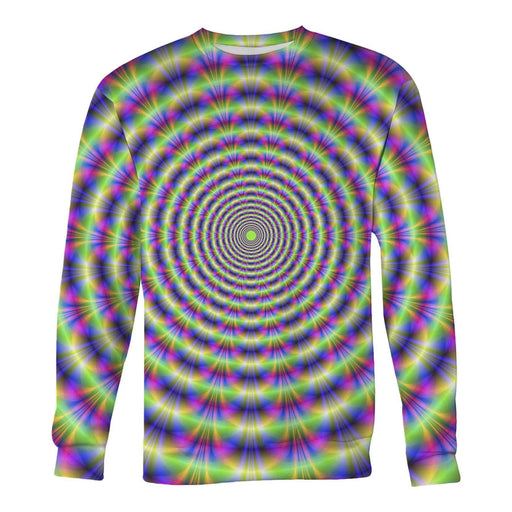 Super trip optical illusion printed all over