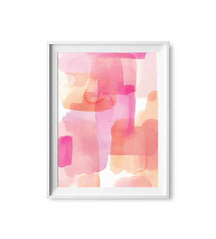 Spring Dream - Abstract Watercolor Print