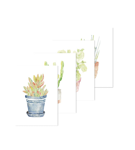Greeting Cards - Plants 4-Pack 2