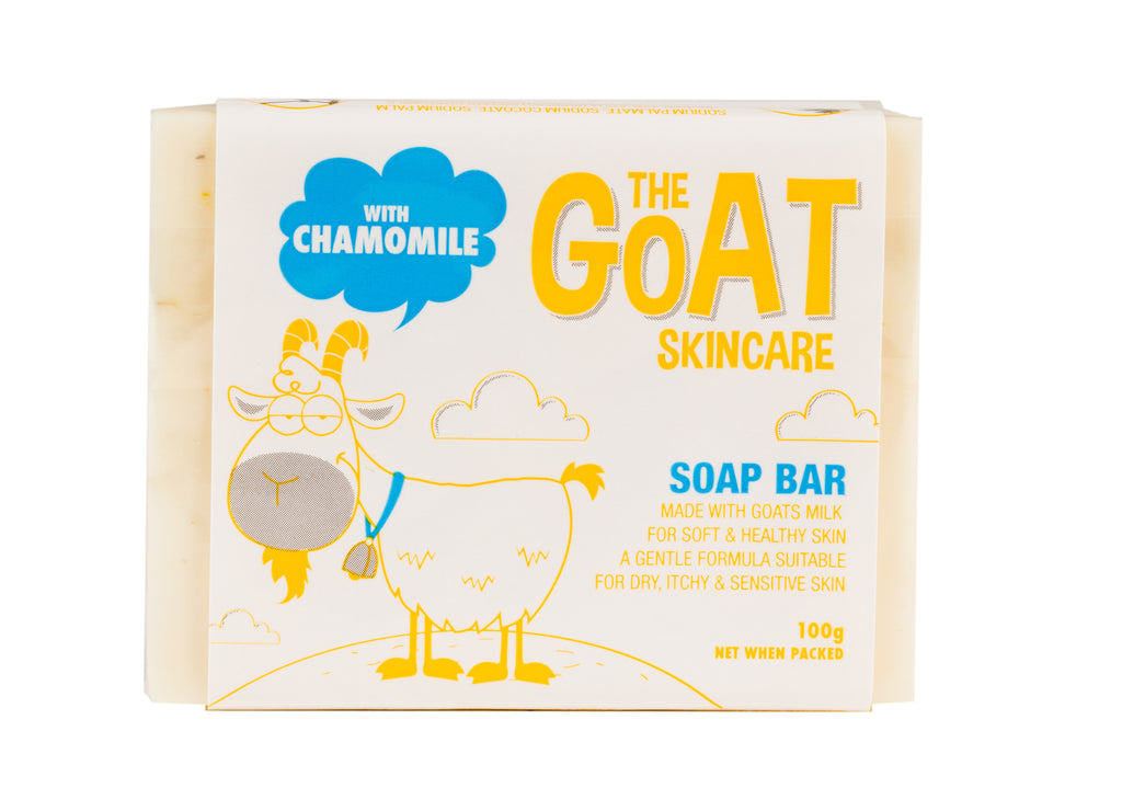 The Goat Skincare Soap Bar with Chamomile Extract 12x Bars