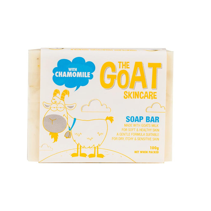 The Goat Skincare Soap Bar with Chamomile Extract 100g