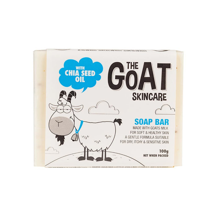 The Goat Skincare Soap Bar with Chia Seed Oil 100g