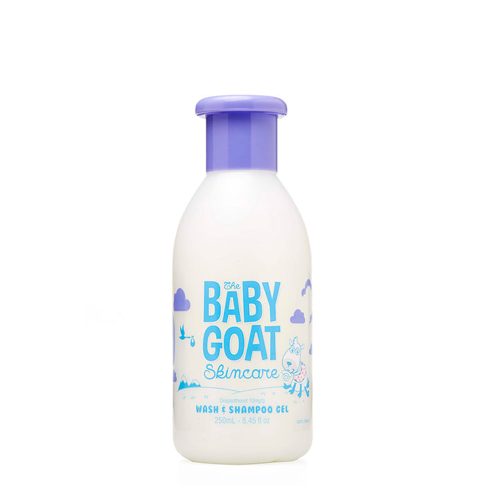 The Baby Goat Skincare Wash & Shampoo Gel 250mL
