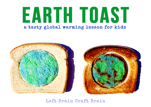 earth day earth toast activity