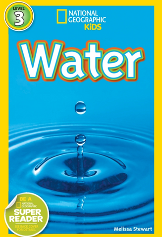 National Geographic Kids Book Water