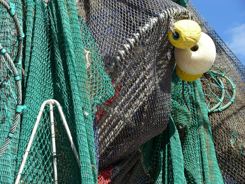 commercial fishing net