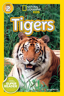 National Geographic Kids Readers: Tigers (Level 2) Animal Book