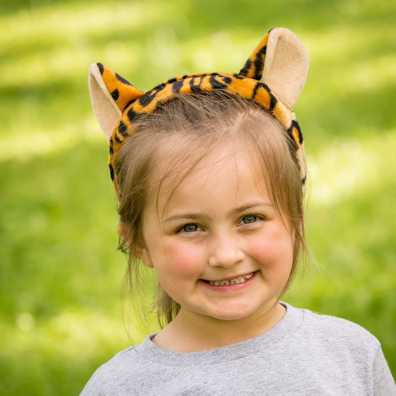 Leopard Ears for Leopard Costume Cosplay Jungle Safari Pretend Play