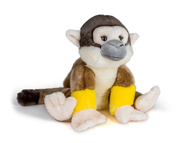 Wildlife Tree 12 Inch Stuffed Squirrel Monkey Plush Floppy Animal Kingdom Collection