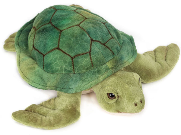 12 Inch Stuffed Sea Turtle Plush Floppy Animal Kingdom Collection