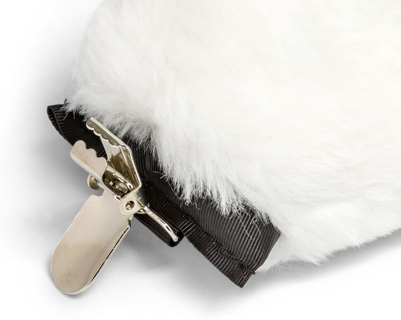 Polar Bear Tail Clip-On for Polar Bear Costume Cosplay Pretend Play