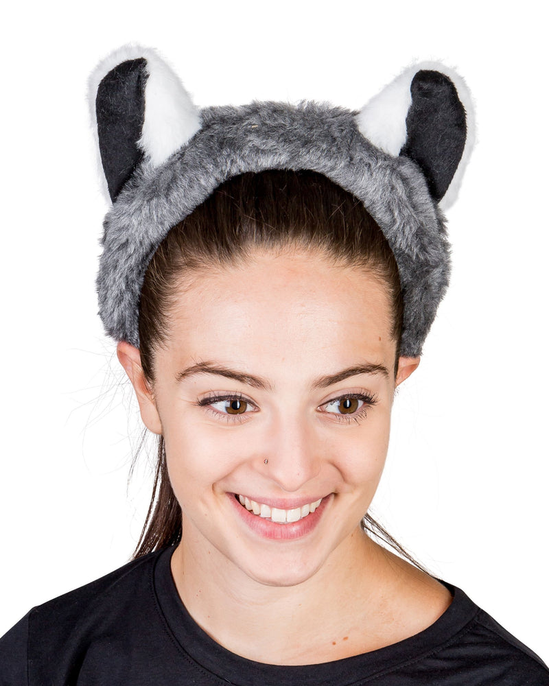 Ring-Tailed Lemur Ears for Lemur Costume Cosplay Animal Pretend Play