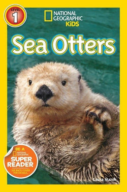 National Geographic Kids Readers: Sea Otters (Level 1) Animal Book