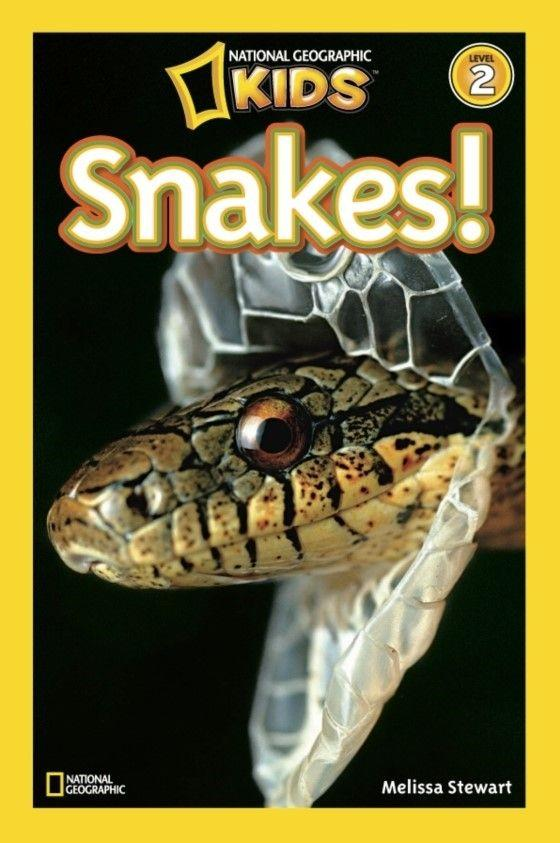 National Geographic Kids Readers: Snakes (Level 2) Animal Book