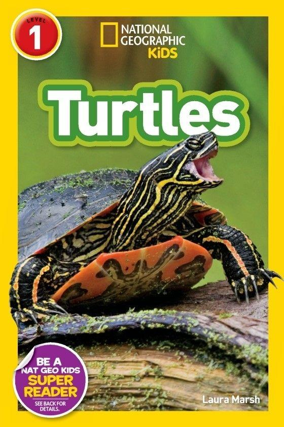 National Geographic Kids Readers: Turtles (Level 1) Animal Book