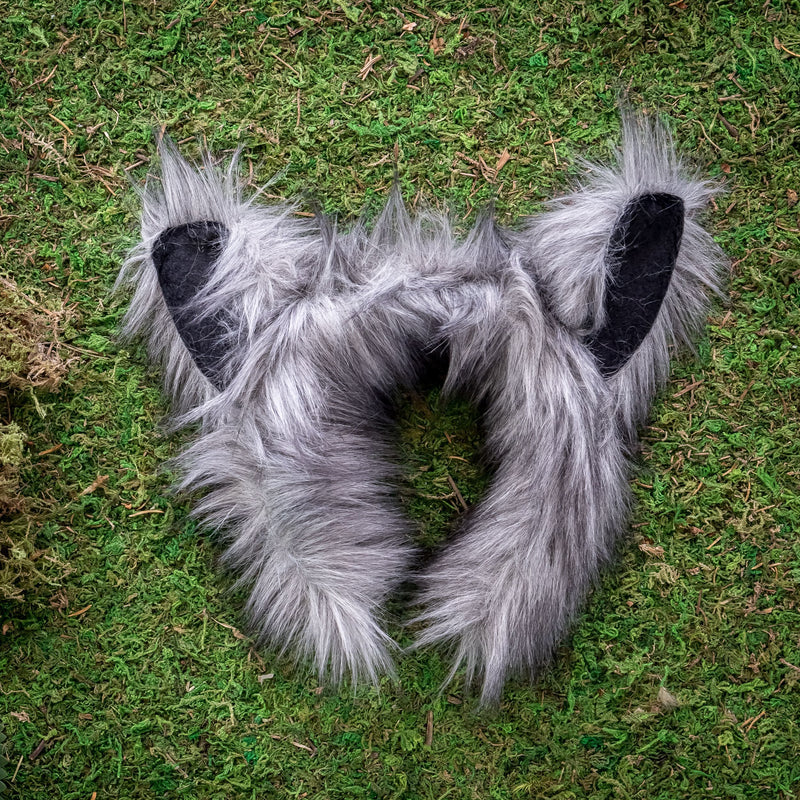 Wolf Ears for Wolf Costume Cosplay Woods Forest Animal Pretend Play