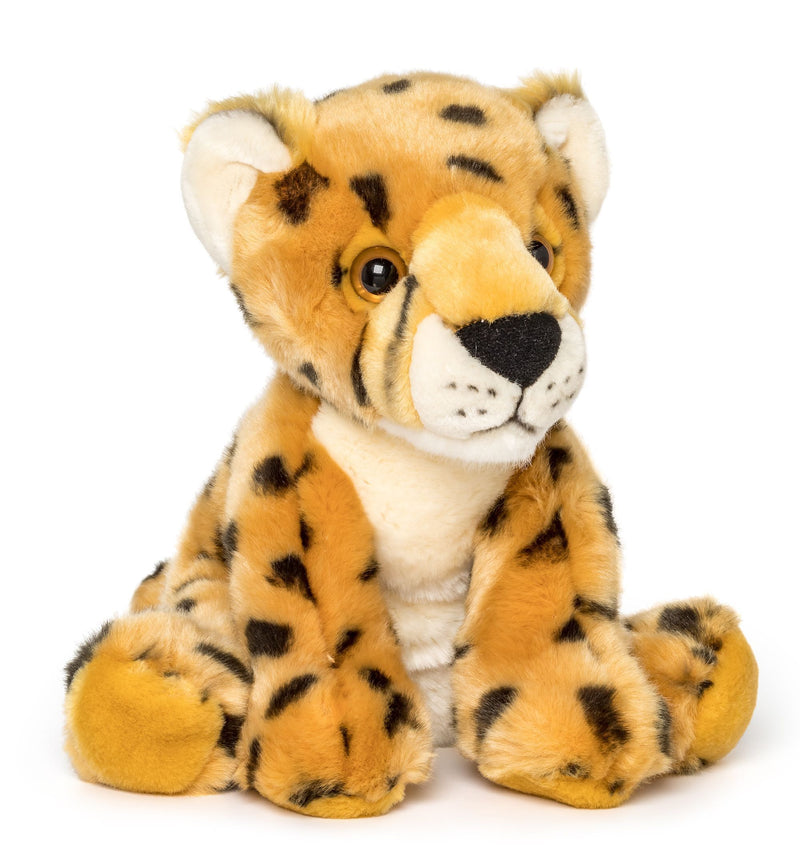 Wildlife Tree 12 Inch Stuffed Cheetah Plush Floppy Animal Kingdom Collection