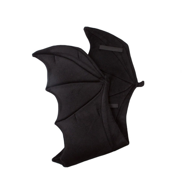Plush Black Bat Wings for Kids Bat Costume, Dragon Costume, Cosplay and Pretend Play