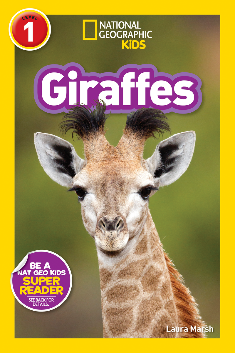 National Geographic Kids Readers: Giraffes (Level 1) Animal Book