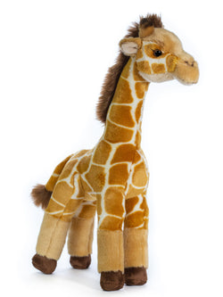 Standing 16 Inch Giraffe Stuffed Animal Floppy Plush Kingdom
