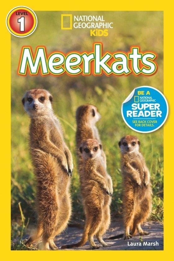 National Geographic Kids Readers: Meerkats (Level 1) Animal Book