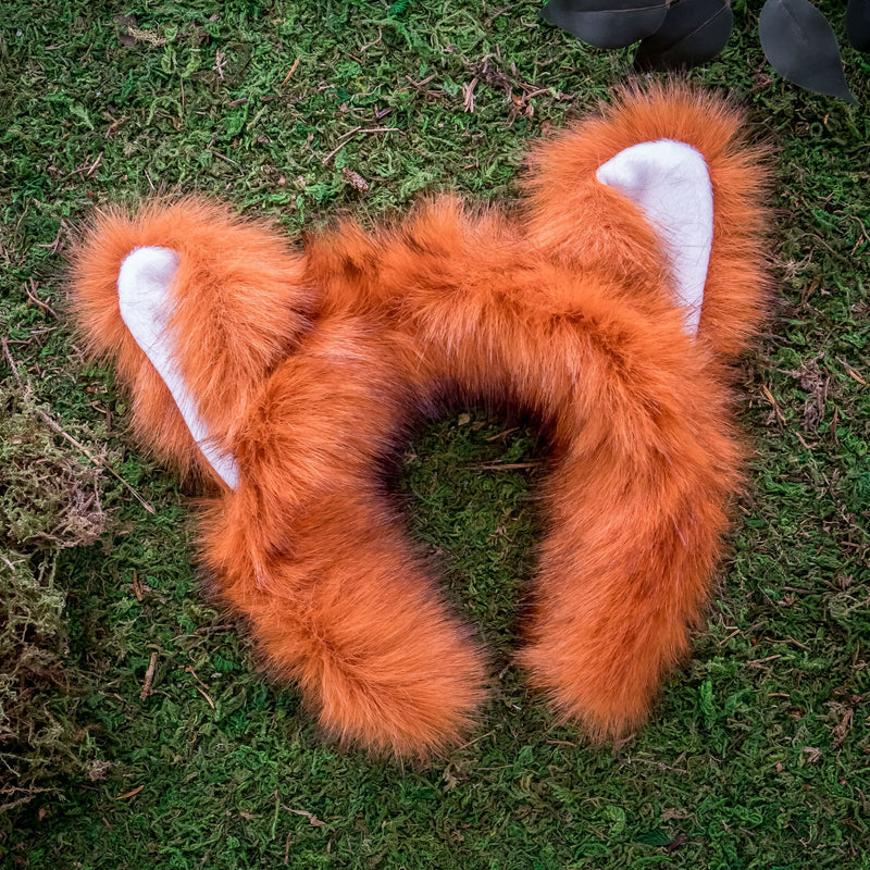 Red Panda Ears for Red Panda Costume Cosplay Animal Pretend Play
