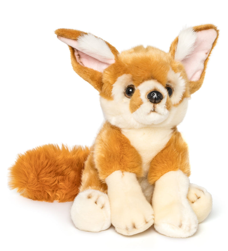 Wildlife Tree 12 Inch Stuffed Fennec Fox Plush Floppy Animal Kingdom Collection