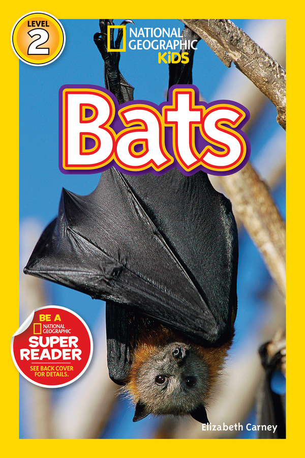 National Geographic Kids Readers: Bats (Level 2) Animal Book