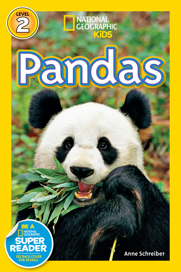 National Geographic Kids Readers: Pandas (Level 2) Animal Book