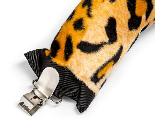 Leopard Tail Clip-On for Leopard Costume Cosplay Safari Pretend Play