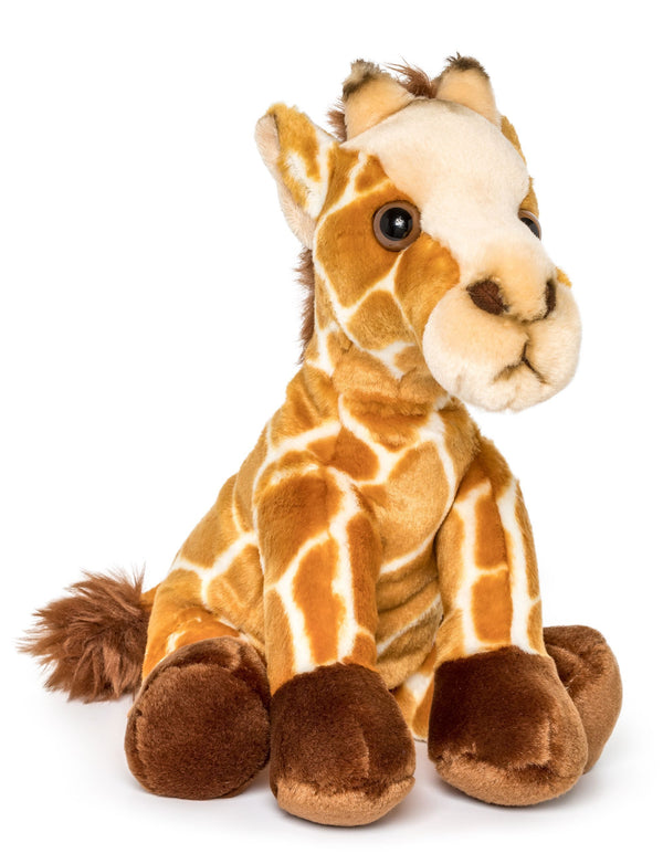 Wildlife Tree 12 Inch Stuffed Giraffe Plush Floppy Animal Kingdom Collection