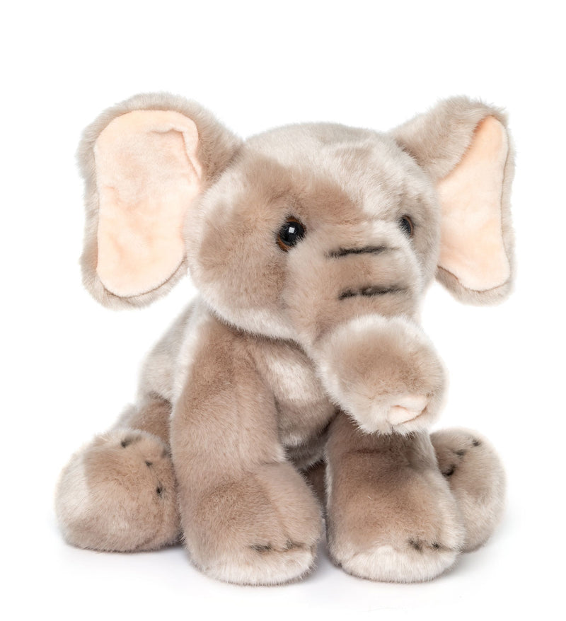 Wildlife Tree 12 Inch Stuffed Elephant Plush Floppy Animal Kingdom Collection