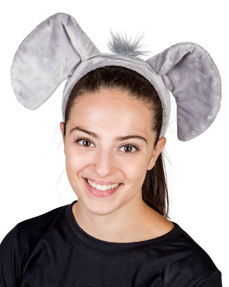 Elephant Ears for Elephant Costume Cosplay Animal Safari Pretend Play