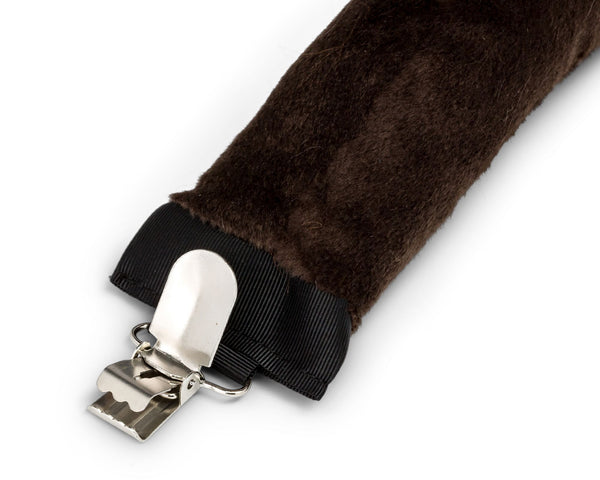 Clip for Plush Buffalo Tail for Buffalo Costume