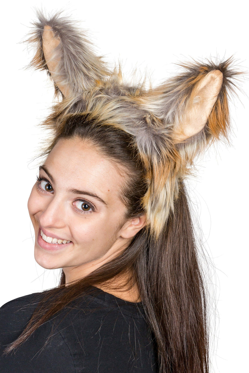 Fennec Fox Ears for Fennec Fox Costume Cosplay Animal Pretend Play