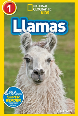 National Geographic Readers Llamas (Level 1) Animal Book