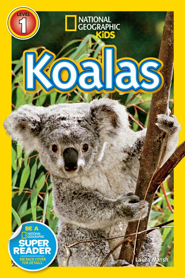 National Geographic Kids Readers: Koalas (Level 1) Animal Book