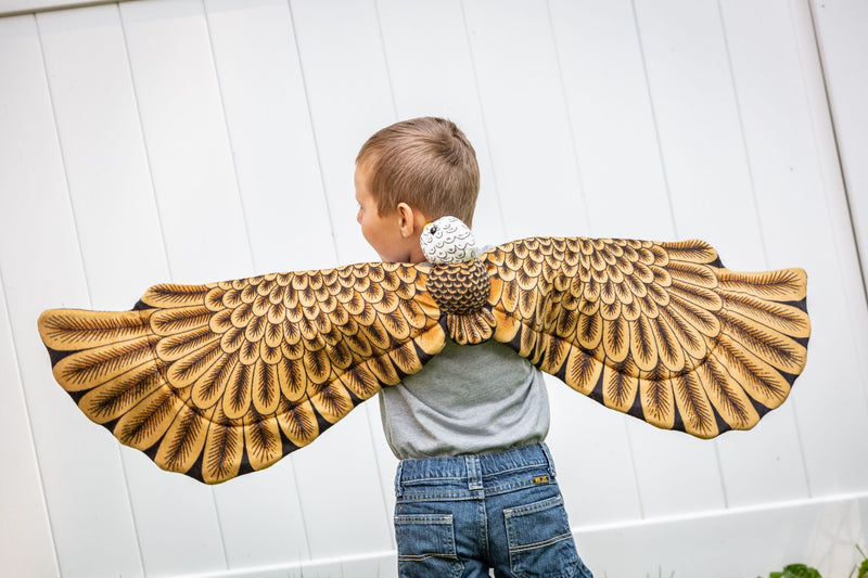 Bald Eagle Wings for Bird Costume, Kids Cosplay and Pretend Play