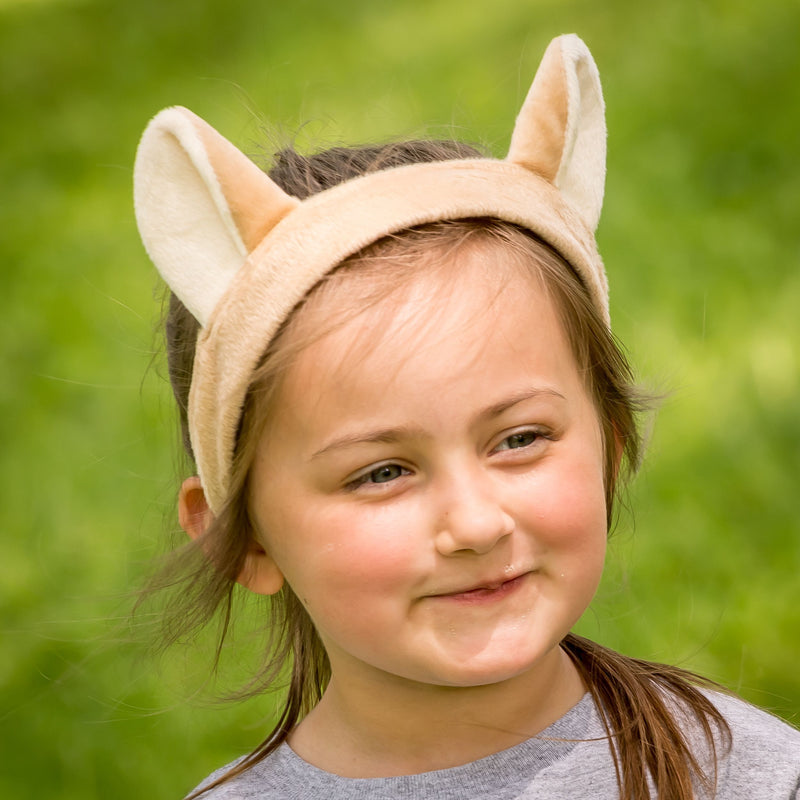 Mountain Lion Ears for Cougar Costume Cosplay Animal Pretend Play