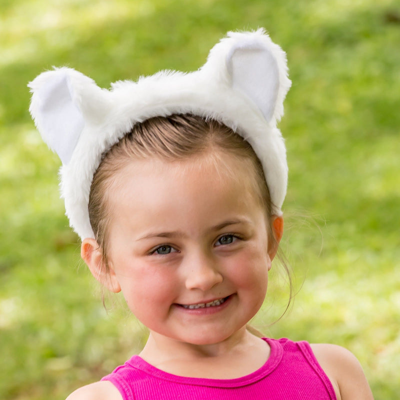 Polar Bear Ears for Polar Bear Costume Cosplay Animal Pretend Play