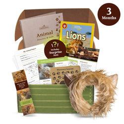 edZOOcation Animal Education Monthly Subscription Box by Wildlife Tree (3 Months)