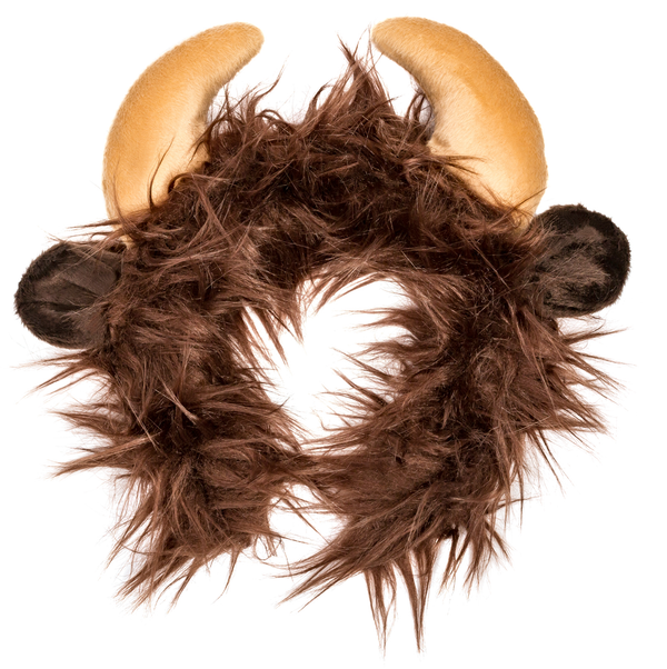 Buffalo Ears for Bison Costume Cosplay Plains Animal Pretend Play