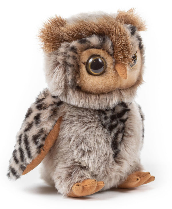 9 Inch Stuffed Eagle Owl Plush Floppy Animal Kingdom Collection