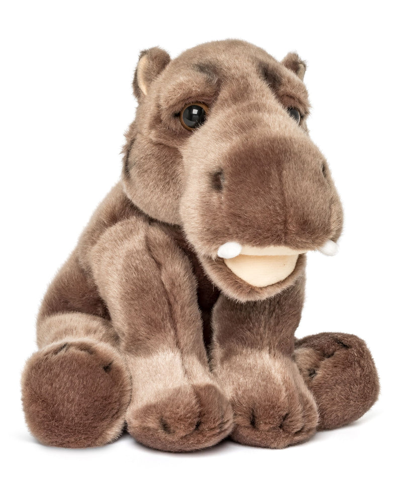 Wildlife Tree 12 Inch Stuffed Hippopotamus Plush Floppy Animal Kingdom Collection